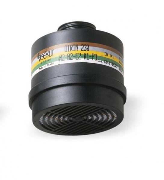 Mehrbereichs-Kombifilter ABEK-P3 Schraubfilter Atemschutz