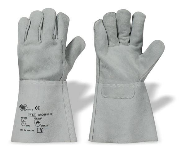 Schweißerhandschuh Spalter 12er Pack