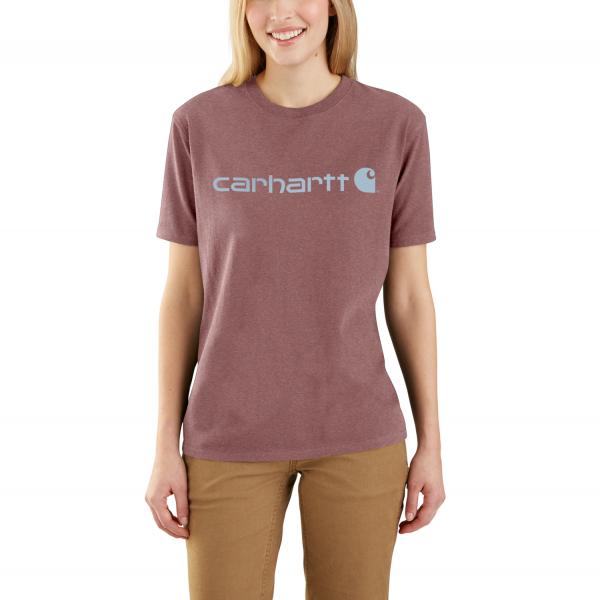 Carhartt WORKWEAR LOGO SHORT-SLEEVE T-SHIRT WOMEN