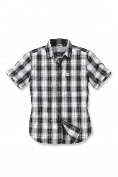 Carhartt Workwear 102548 Slim Fit Plaid Short Sleeve Hemd