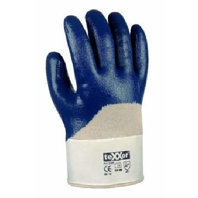 Nitri lHandschuh blau Stulpe 12er Pack