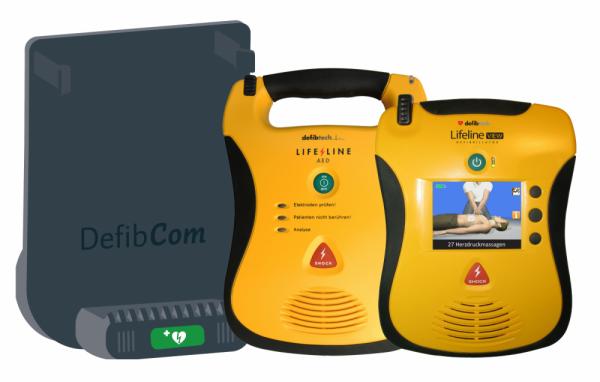 DefibCom Fernüberwachung/ Halterung für Defibrillator