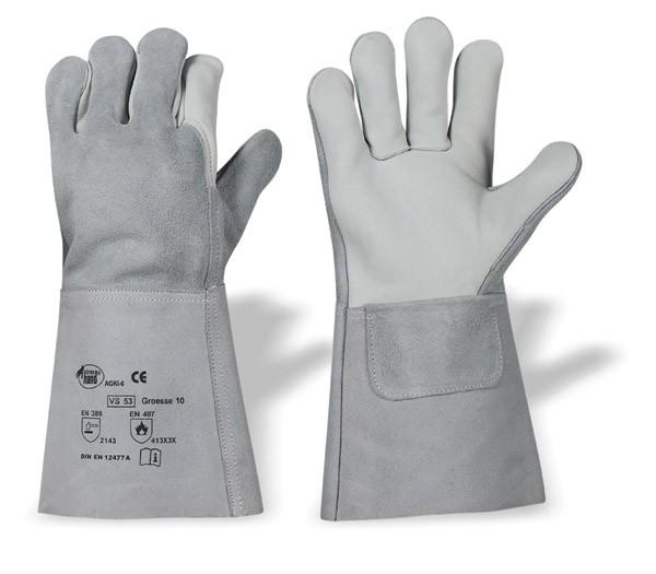 Schweißerhandschuh Kombi 12er Pack