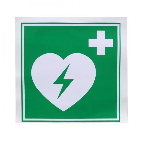 AED Venyl-Aufkleber