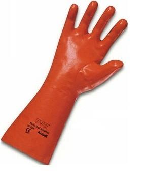 PVA-Ansell Handschuh rot 35cm