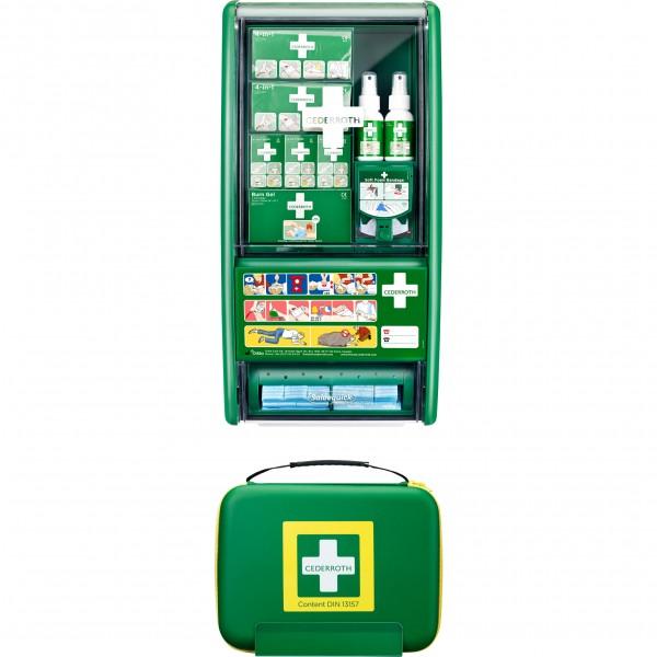 First Aid & Burn Station SET DIN 13157