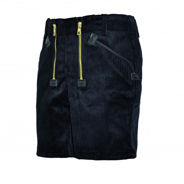 EIKO Zunftbermuda schwarz, eingesetzte Zollstocktasche