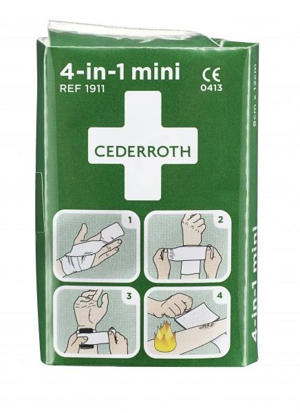 Cederroth Blutstiller/Druckverband 4in1 Mini