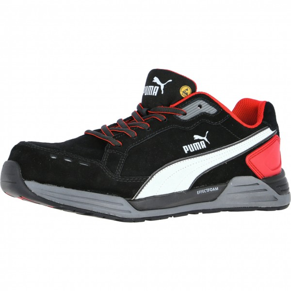 AIRTWIST BLACK-RED LOW Puma