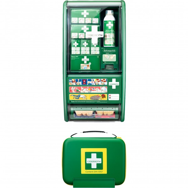 First Aid Station SET DIN 13157