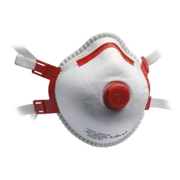 FFP3 Maske na DIn mit Atemventil
