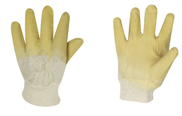 Latex Handschuhe Strickbund 120er Karton