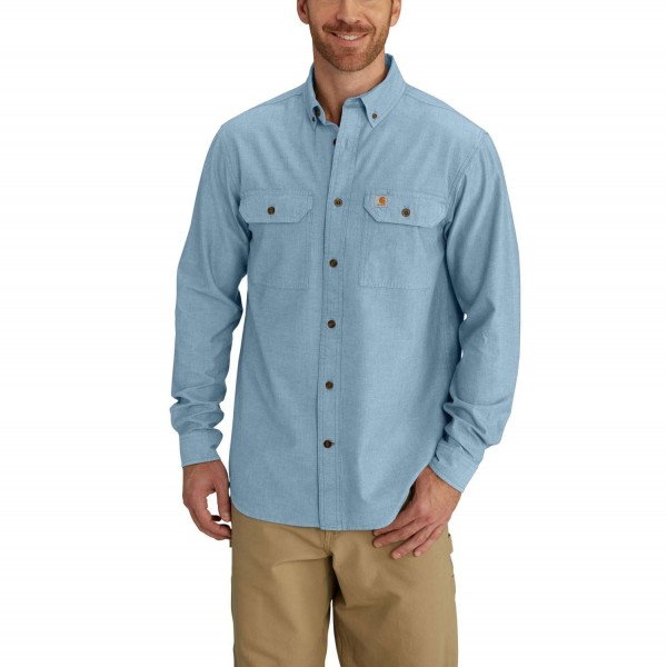 S202 Carhartt Workwear Fort Solid Long Sleeve Hemd