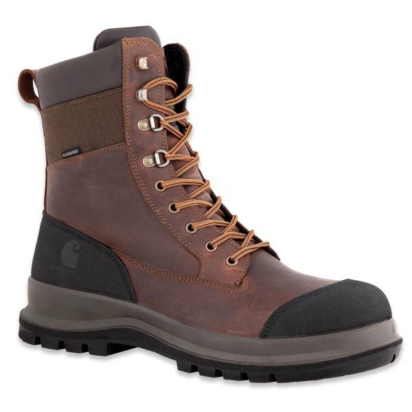 Carhartt Men's Detroit Rugged Flex® Waterproof Insulated S3 High Work Boot-Copy