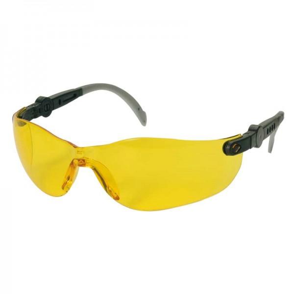 Schutzbrille Champ gelb getönt