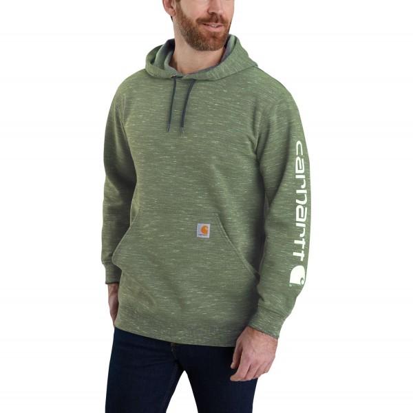Carhartt Workwear K288 Midweight Signature Sleeve Logo Hooded Sweatshirt