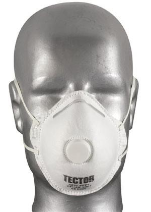 P1 Feinstaubmaske mit Ausatemventil 12er Pack Atemschutzmasken