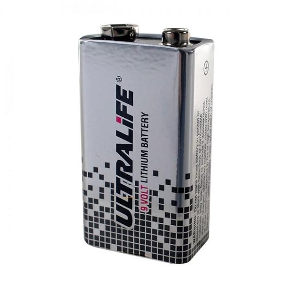 Selbsttestbatterie 9 Volt Lithium