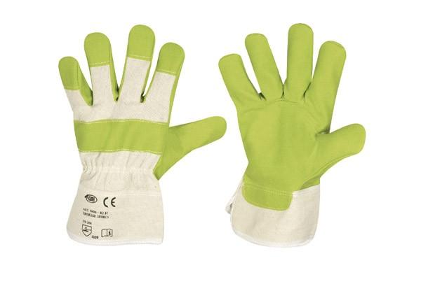 Kunstleder Handschuhe 12er Pack