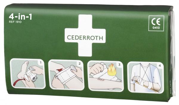 Cederroth Blutstiller/Druckverband 4in1